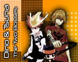 Dino and Tsuna by CaptainLaser