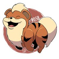 058 - Growlithe by steven-andrew