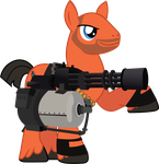 MLP:FIM / TF2 - And this is my weapon by ah-darnit