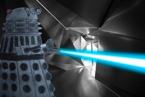 Dalek in hall of mirrors by Animedalek1
