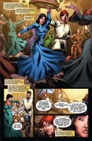 Wheel of Time issue 12 pg5 by NicChapuis