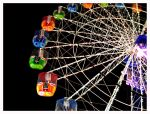 Ferris Wheel at Night by reynese