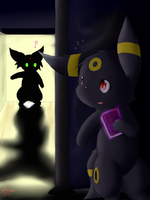 Umbreon and the Diary by Lekisceon