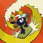 8-ball Surfer by Lukc