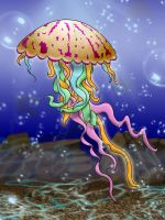 Jellyfish by Caitiekabob