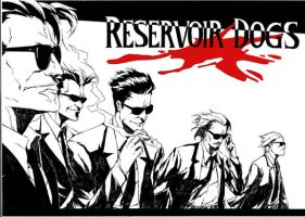 reservoir dogs by therockerrabbit