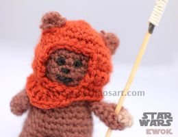 Wicket the Ewok Crochet by bicyclegasoline