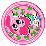 Pinkie Pie sweet button by KennyKlent