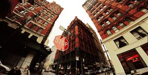 NYC- Red Blocks by PeeAsH