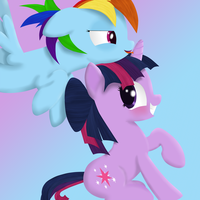 Dashie and Twi by DonParpan