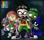 Teen Titans by RavenEvert