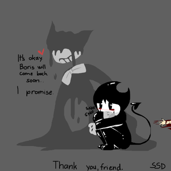 Not every demon is evil... by ShadowStarDraws