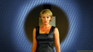 Amanda Tapping Replicator Samantha II by Dave-Daring