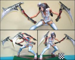 Akali Nurse - League of Legends by AeDisMon
