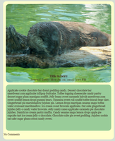 Water Otter CSS by Lyricanna
