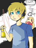 Pewdie, Y U NO LOVE ME by Benyu