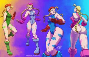 Cammy colors by Keino-Evans