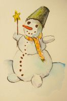 Snowman nr 2 by pagone