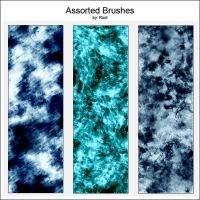 Assorted Brushes pack1 by D-fiance