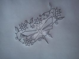 Dragonfly Design by fionachitauro