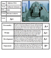 Alphonse Elric Character Review by mlp-vs-capcom