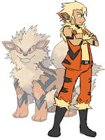 Lo'Gosh the Arcanine by Lexial-XIII