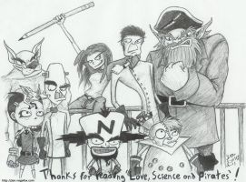 Love, Science and Pirates by JenL