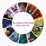 The Colours Of My World by Shirley-Agnew-Art