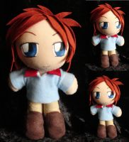Commission Mini Plushie Cye Mouri by ThePlushieLady