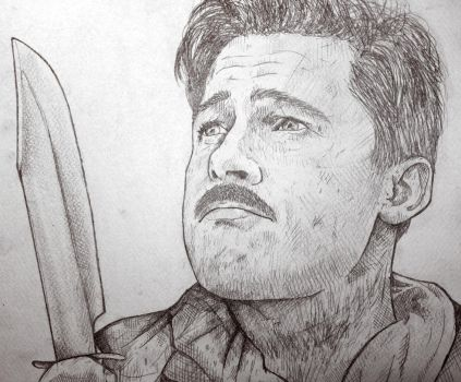 Lt. Aldo Raine by ReVerbaration