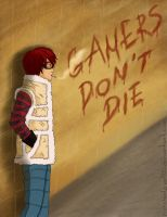 Gamer's Don't Die by YasashiiBisky000