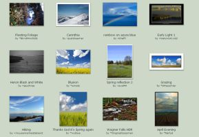 May Submissions: 9th -13th by Scapes-club