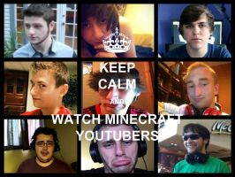 MineCraft YouTubers by DatGirlDatLikesAll