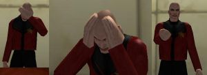 CoH: Picard Memes by OrionSTARB0Y