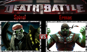 Spinal vs Ermac by SonicPal
