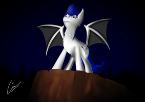 Lightning rider OC - Request by TheCisco1357