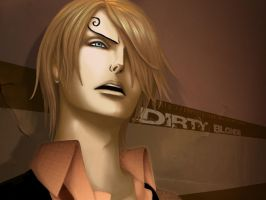 Sanji - Dirty Blonde by christalisee
