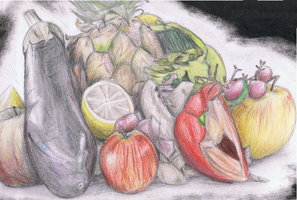 Fruit and veg by ConkerTSquirrel