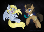 Derpy and the Doctor by Lustrous-Dreams