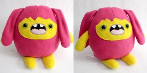 Bubzy - Monchi Monster Plush by yumcha