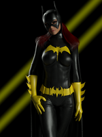 Bat Girl by ironhead333