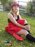 Feeling fine (Yvonne/Serena cosplay) by InvisibleJune