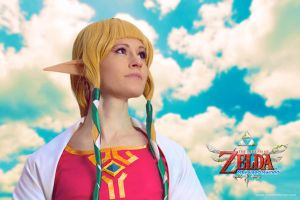 Princess Zelda Skyward Sword by mareefletcher