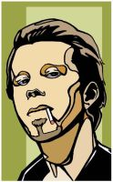 Tom Waits by Cloxboy