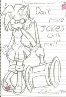 Don't make jokes with me!!-Uncolored by LetBri