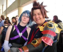 Kingdom Hearts: Terra and Aqua by SoraKazuma