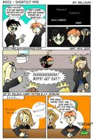 Harry Potter Comic 002 by W1LLSUN