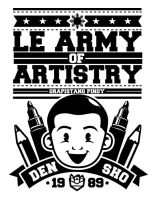 Le Army of Artistry by shoden23