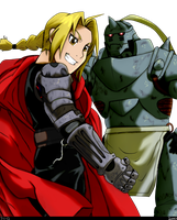 'E' for Elric Brothers by Mookyloo