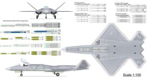 YF-23 Weapon Loadout Specs by B-l-u-e-y